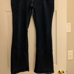 Express 12S jeans flare leg